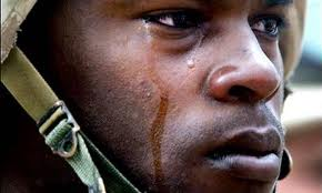 crying Soldier suicide
