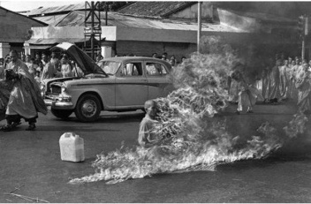 A half-century ago, religious clashes in Vietnam — leading to a dramatic photo of a Buddhist priest burning himself alive — shocked the U.S. government and drove it deeper into the morass of the Vietnam War, a confluence of religion and politics that remains relevant today! war correspondent Beverly Deepe Keever