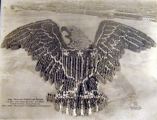 12,500 men  American eagle
