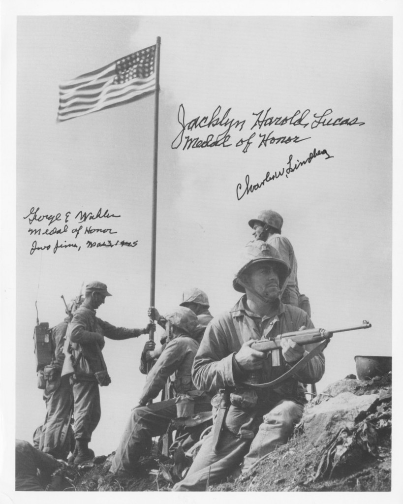 The Iwo Jima Flag Raisers