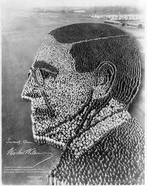 woodrow wilson 21,000 men, 1918