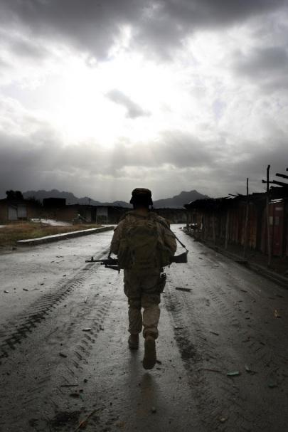 Patrol in Afghan