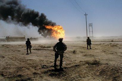 Oil Fields, Iraq