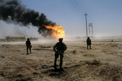 Oil Fields, Iraq