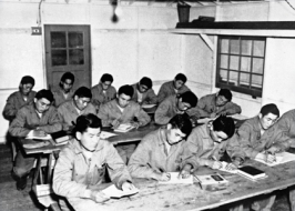 Advanced training required long hard hours in the classroom, not only memorizing the Navajo code, but learning other communications methods as well.