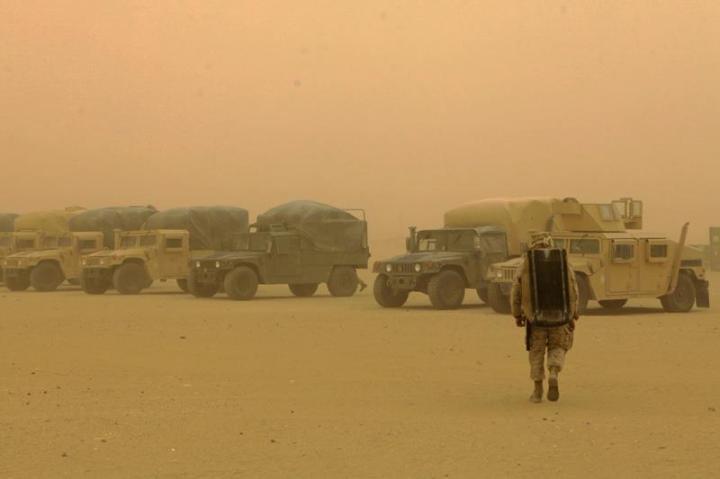 Sand Storm, Afghanistan