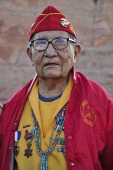 Navajo Code Talker David Patterson