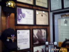 Purple Heart commendation and others