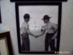Young Sgt. (Rick) and his CO