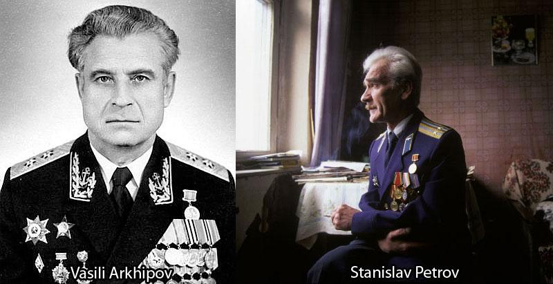 Vasili Arkhipov and Stanislav Petrov