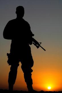 Standing Soldier