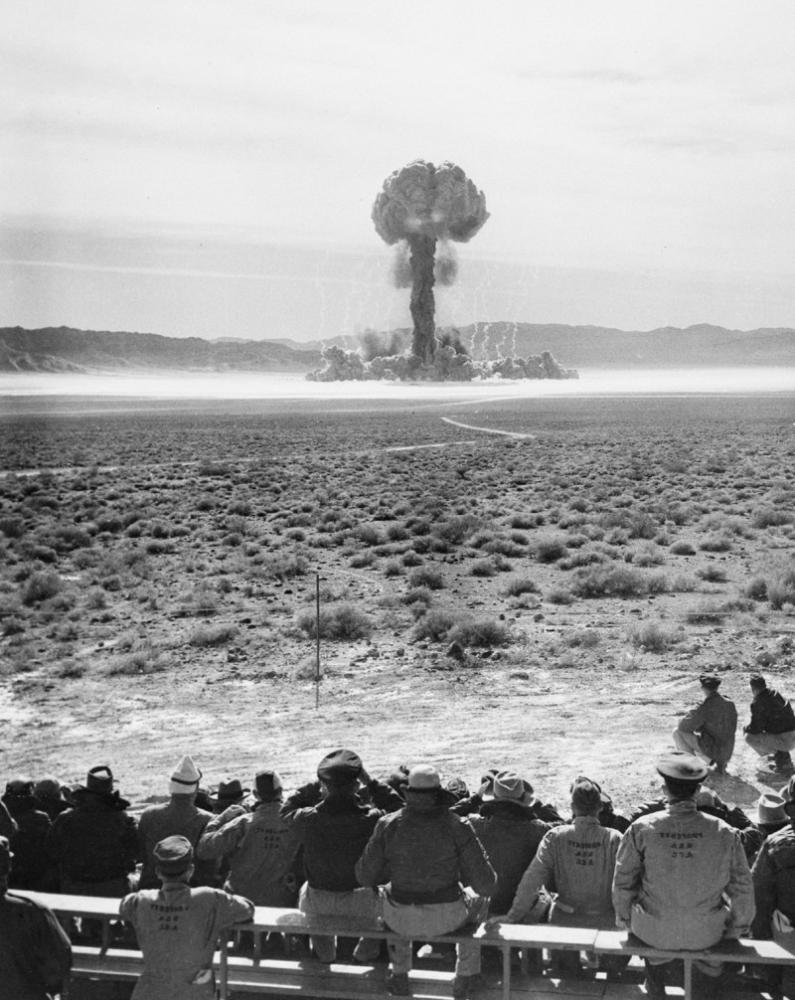 First atomic detonation at the Nevada test site — History.com This Day in History — 1/27/1951
