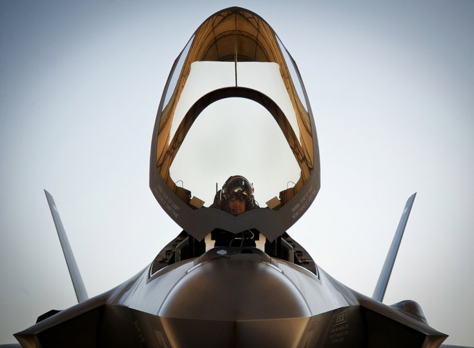 lt-col-benjamin-bishop-completes-preflight-checks-before-his-first-sortie-in-an-f-35a-lightning-ii-at-eglin-air-force-base-fla-bishop-the-422nd-test-and-evaluation-squadron-director-of-operations-was-among-the-first-pilots-