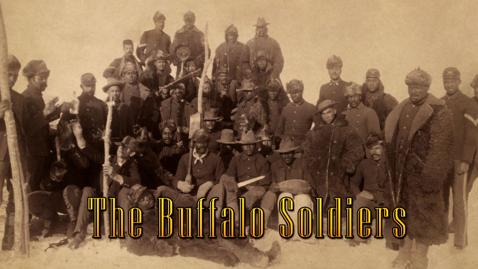 'Buffalo Soldier in the heart of America'