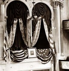 Washington, D.C. President Lincoln's box at Ford's Theater