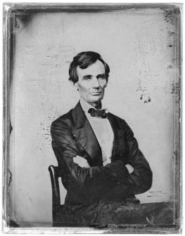 Abraham Lincoln, 1860. Photograph courtesy of The Library of Congress.