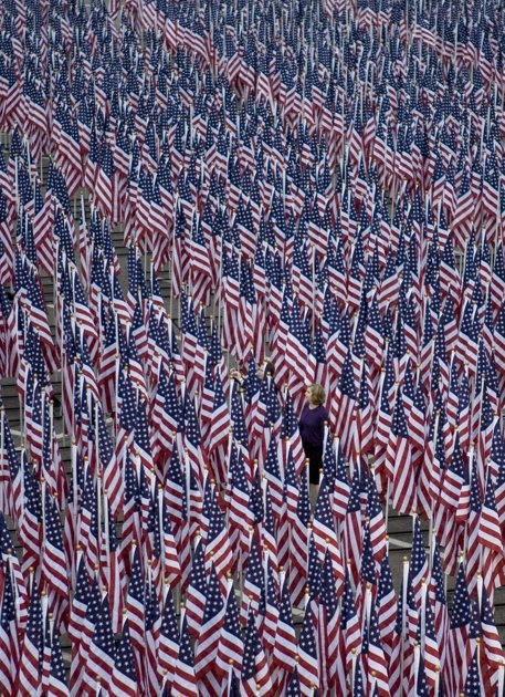 A flag for everyone lost on 9/11