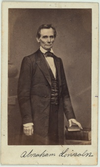 President Lincoln before the beard