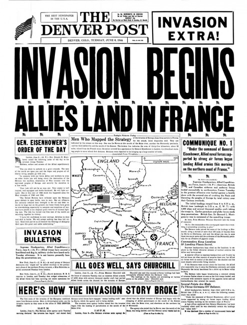 The-Denver-Post,-6-June-1944