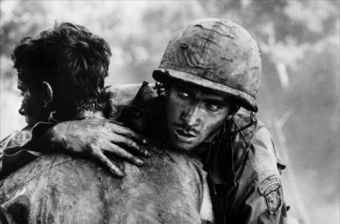 Soldier from the 101st Airborne, Hamburger Hill, Vietnam War.