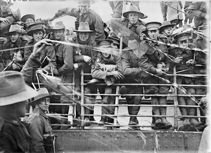 In 1916, The Australian transport ship Ajana was used to bring soldiers to their overseas destinations.