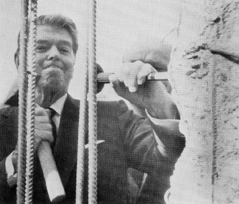 Ronald Reagan, Berlin Wall 1989
