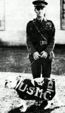 I believe this bulldog is one of the Sgt. Jiggs: Smedley Darlington Butler (July 30, 1881 – June 21, 1940) was a United States Marine Corps major general, the highest rank authorized at that time, and at the time of his death the most decorated Marine in U.S. history.
