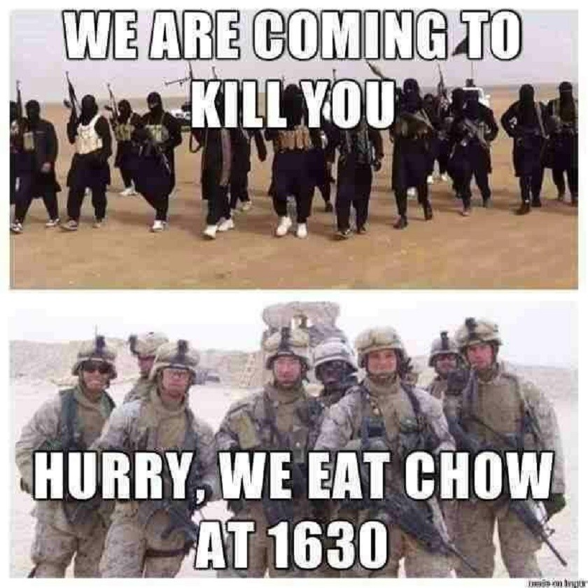 Isis Points Its Fear Campaign At The Us Military Lol