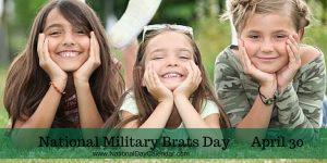 NATIONAL MILITARY BRATSDAY