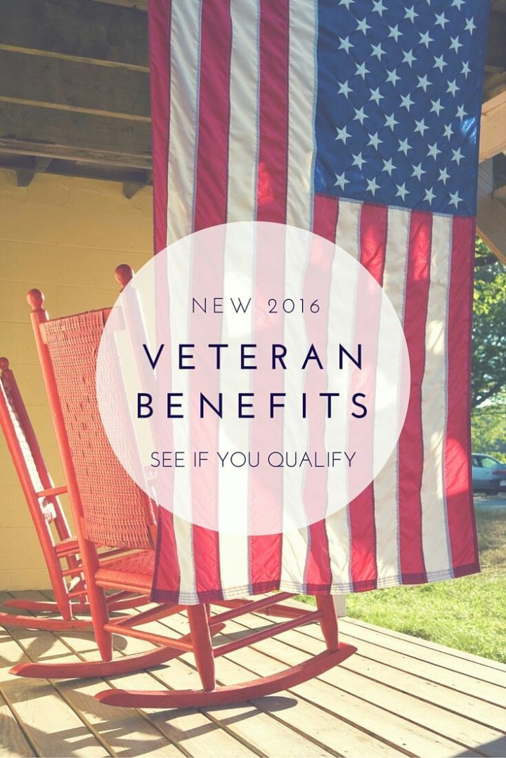New 2016 Veteran benefits