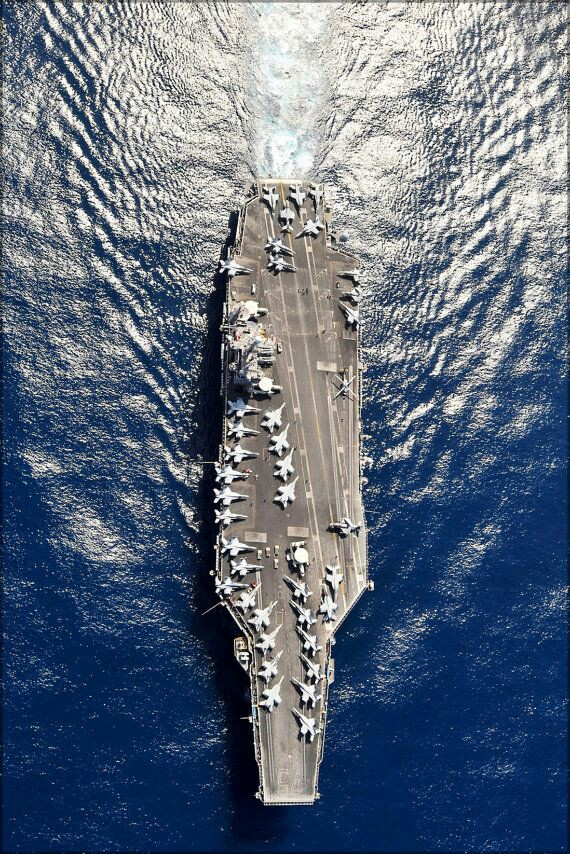 USS Harry Truman underway